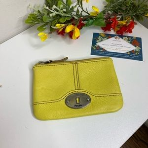 Fossil Lime Coin Purse